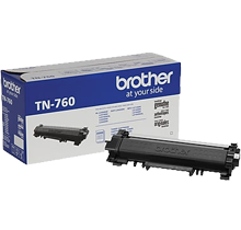~Brand New Original BROTHER TN760 High Yield Laser Toner Cartridge Black