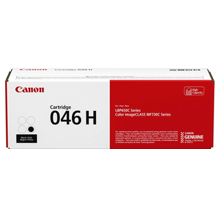 ~Brand New Original Canon 1254C001 (046H) Laser Toner Cartridge High Yield Black
