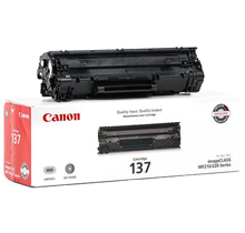 ~Brand New Original CANON 137 (9435B001) Laser Toner Cartridge Black