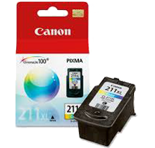 ~Brand New Original CANON CL-211XL HIGH YIELD INK / INKJET Cartridge Tri-Color