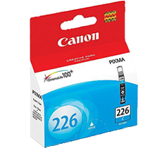 ~Brand New Original CANON CLI226C INK / INKJET Cartridge Cyan