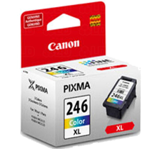 ~BRAND NEW ORIGINAL CANON CL-246XL INK / INKJET Cartridge Tri-Color High Yield