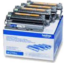 ~Brand New Original BROTHER DR221CL Laser Drum Unit 4-Pack
