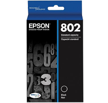 ~Brand New Original EPSON T802120 INK / INKJET Cartridge Black