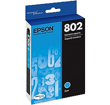 ~Brand New Original EPSON T802220 INK / INKJET Cartridge Cyan