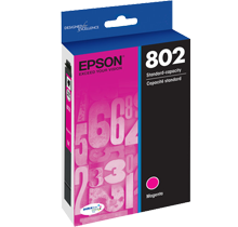 ~Brand New Original EPSON T803220 INK / INKJET Cartridge Magenta