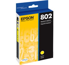 ~Brand New Original EPSON T802420 INK / INKJET Cartridge Yellow