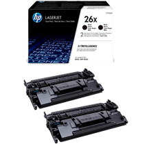 ~Brand New Original HP CF226XD High Yield Laser Toner Cartridge Black DUAL PACK (2-PACK)