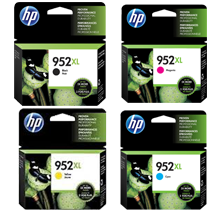 ~Brand New Original HP 952XL High Yield INK / INKJET Cartridge Set Black Cyan Yellow Magenta