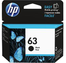 ~Brand New Original HP F6U62AN (HP 63) INK / INKJET Cartridge Black