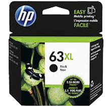 ~Brand New Original HP F6U64AN (HP 63XL) High Yield INK / INKJET Cartridge Black