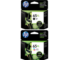 ~Brand New  Original HP N9K03AN / N9K04AN (#65XL) High Yield INK / INKJET Cartridge Combo Pack Black Tri-Color