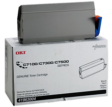 ~Brand New Original OKIDATA 41963004 Laser Toner Cartridge Black