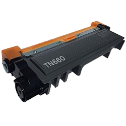 Brother TN660-JUMBO Black Laser Toner Cartridge