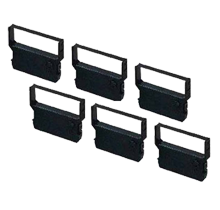 VERIFONE CRM0023BK Ribbons 6-PACK Black