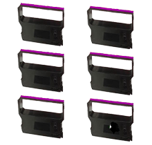 VERIFONE CRM0023PL Ribbons 6-PACK Purple