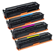 HP CF410A Laser Toner Cartridge Set  Black Cyan Yellow Magenta
