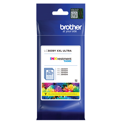 ~Brand New Original Brother LC3039Y Yellow Ink Cartridge Ultra High Yield